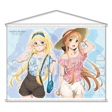 Sword Art Online Alicization: War of Underworld Asuna & Alice B2-Size Tapestry Vol. 2