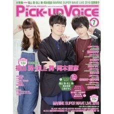 Pick-Up Voice July 2016