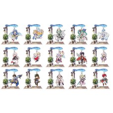 Another Eden Yura Yura Acrylic Stand Complete Set (4th Anniversary Mini Character Ver.)