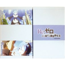 Re:Zero -Starting Life in Another World- Double Face Card Book