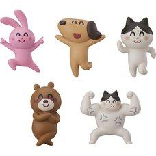 Irasutoya Party Mascot Keychains Box Set
