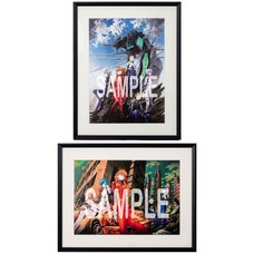 Yoshiyuki Sadamoto Neon Genesis Evangelion A3-Size Reproduction Art Print