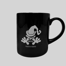 moon catch! Black Mug