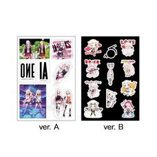 IA & ONE Mini Wall Stickers
