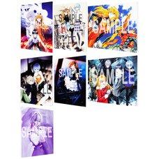 Yoshiyuki Sadamoto Neon Genesis Evangelion F3-Size Canvas Art