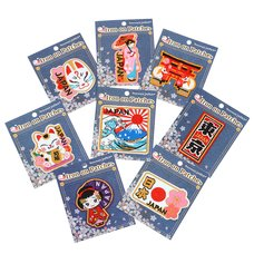 Japanese Iron-on Patch Collection
