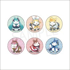 Hatsune Miku Creators Party Trading Pin Badge Collection: Ikuchibyouin Ver.