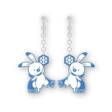 Snow Miku Yukine Earrings