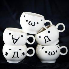Kaomoji-kun Mugs