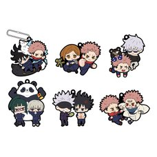 Buddy Colle Jujutsu Kaisen Rubber Mascot Box Set