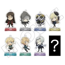 Lord El-Melloi II's Case Files B8 Acrylic Keychain Collection Box Set