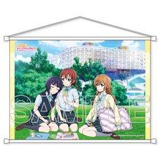 Love Live! Series Nijigasaki High School Idol Club Third-Year Students B2-Size Tapestry