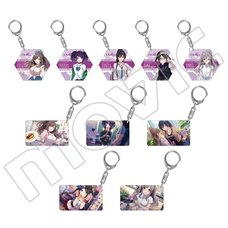 The Idolm@ster Cinderella Girls L'Antica Acrylic Keychain Collection Box Set