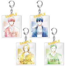 Given Art-Pic Acrylic Keychain Collection