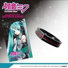 Hatsune Miku Barrette Motif Ring