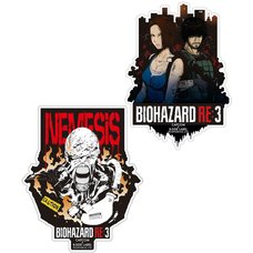 Capcom x B-Side Label Resident Evil 3 Sticker Collection Vol. 4