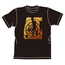 Rebuild of Evangelion AT Field Logo Black T-Shirt