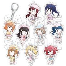 Love Live! Sunshine!! 9 Angels☆ Trading Acrylic Keychain Box Set