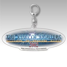 The King of Fighters 2002 Title Logo Acrylic Keychain