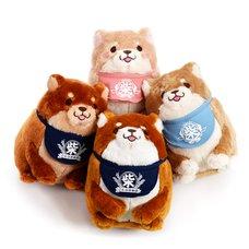 Chuken Mochi Shiba Sitting Plush Collection
