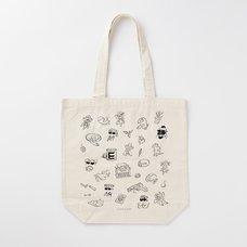 Capcom Line Art Tote Bag