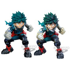 My Hero Academia Banpresto World Figure Colosseum Modeling Academy Super Master Stars Piece Izuku Midoriya