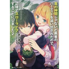 Banished from the Hero's Party I Decided to Live a Quiet Life in the Countryside Vol. 2 (Light Novel)