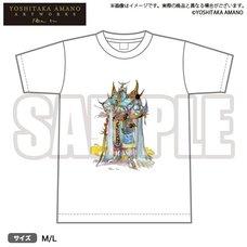Bushiroad x Yoshitaka Amano Artworks Game Illustration T-Shirt 01