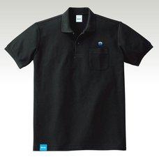 NEOGEO Label H Grade Black Polo