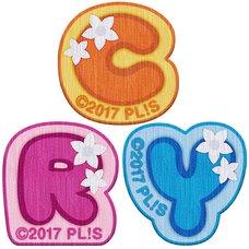 Love Live! Sunshine!! CYaRon! 2nd Love Live! ~Great Revolution☆Wake Up Kingdom~ 3 Emblem Stickers Set