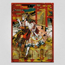 Sakura Panel Emaki Tapestry