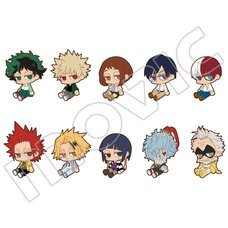 My Hero Academia Yurutto Darun Rubber Strap Collection