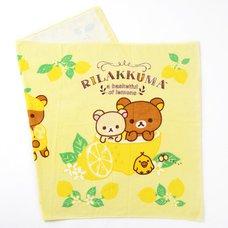 Rilakkuma A Basketful of Lemons Beach Towel