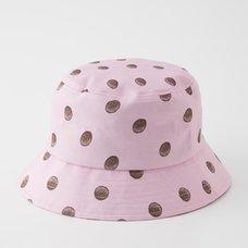 Junji Ito R4G Uzumaki Dots Pink Bucket Hat