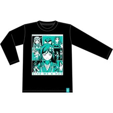 Love Live! Sunshine!! Aqours 5th Anniversary Kanan Ver. Long Sleeve T-Shirt