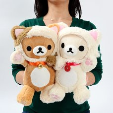 Rilakkuma Motto Nonbiri Neko Puppet Plush Collection