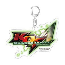 "KOF: Maximum Impact Regulation ""A"" Title Logo Acrylic Keychain"