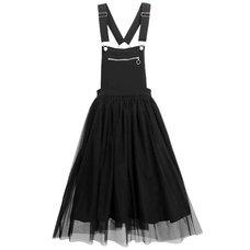 LISTEN FLAVOR Tulle Layered Jumper Skirt