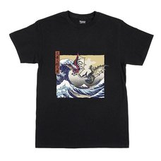Monster Hunter Ukiyo-e Rathalos & Rathian x Fugaku T-Shirt