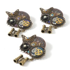 Fairy Watch Brooches