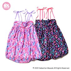 6%DOKIDOKI Colorful Rebellion/Animal Babydoll Dress