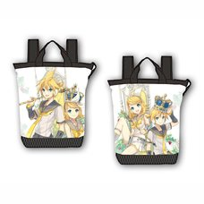 Kagamine Rin/Len 10th Anniversary Tote Backpack