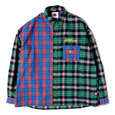 Otaku Green Flannel Shirt
