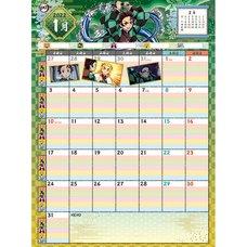 Demon Slayer: Kimetsu no Yaiba 2022 Writing Calendar