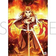 Demon Slayer: Kimetsu no Yaiba the Movie: Infinity Train Mini Clear Poster A