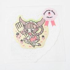 Strawberry Rabbit Sticker
