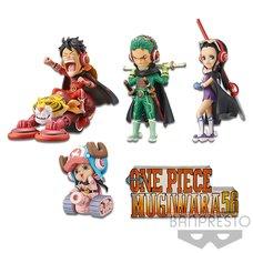 One Piece World Collectable Figure: Mugiwara56 Vol. 1