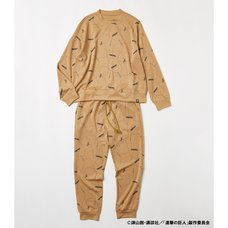 Attack on Titan R4G 3D Maneuver Gear Beige Tracksuit