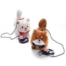 Chuken Mochi Shiba Walking Plush Collection