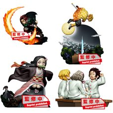 Petitrama Series Demon Slayer: Kimetsu no Yaiba Vol. 1 Box Set